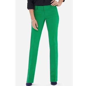 THE LIMITED | Drew fit Kelly green slacks | sz 4